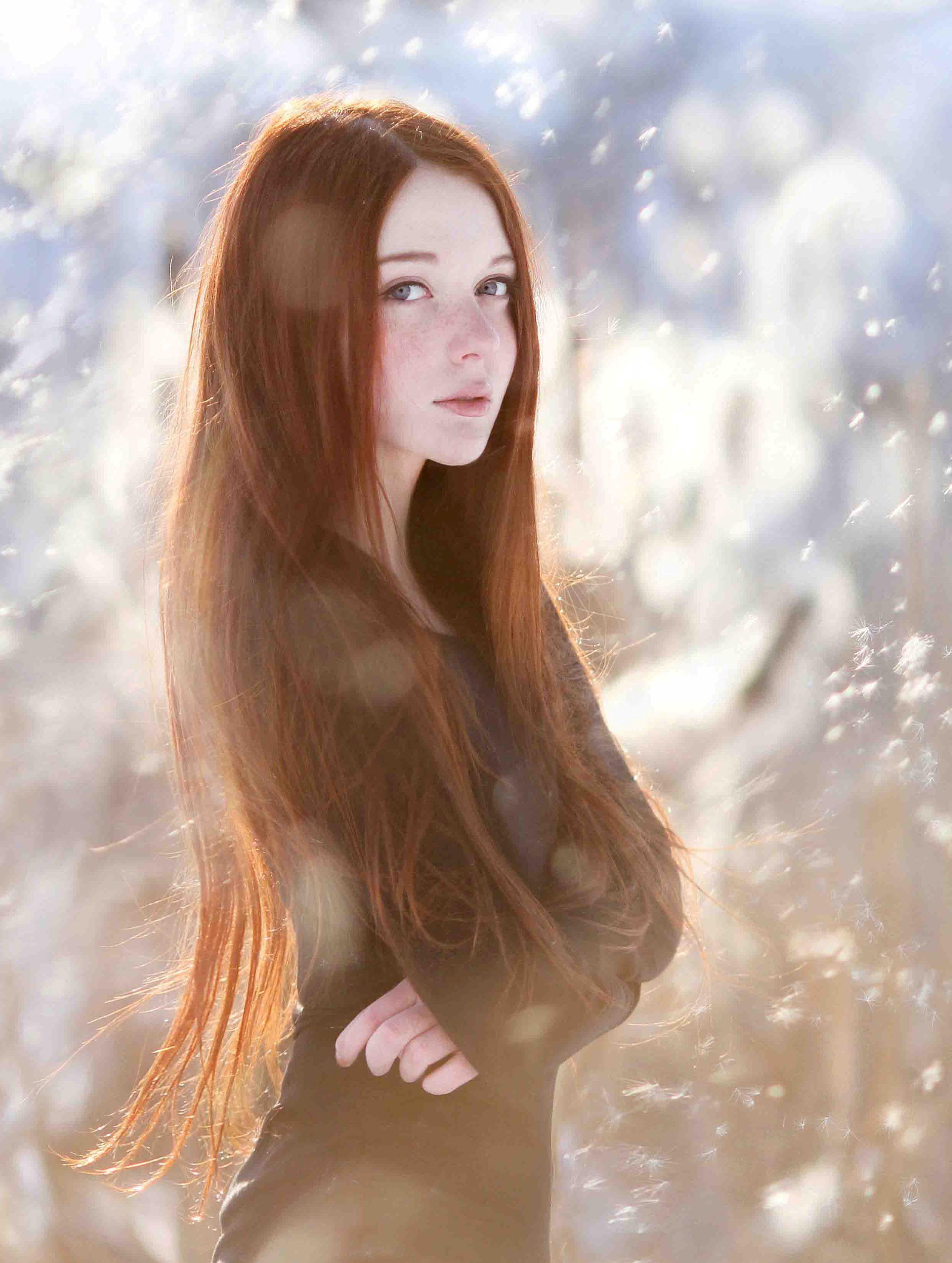 Фотки красивых рыжеволосых девушек 1 фотография